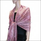 Metallic Stem Flower Shawl 09