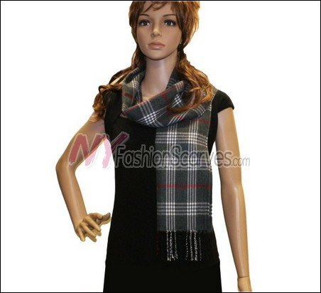 Classic Cashmere Feel Scarf <br>NY50-01