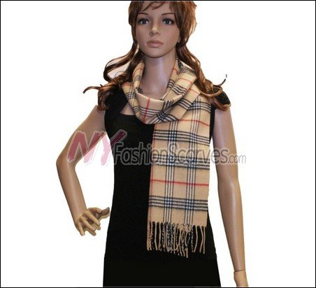 Classic Cashmere Feel Scarf <br>NY50-02