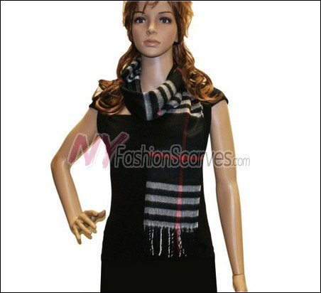 Classic Cashmere Feel Scarf <br>NY66-01