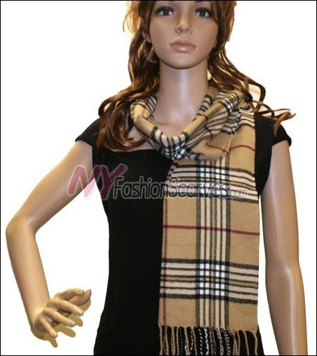 Classic Cashmere Feel Scarf <br>NY67-02