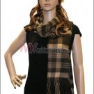 Plaid Cashmere Feel Scarf <br>NY17-02