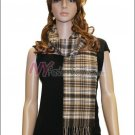 Plaid Cashmere Feel Scarf <br>NY31-02