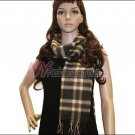 Plaid Cashmere Feel Scarf <br>NY33-03