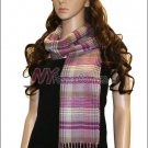 Plaid Cashmere Feel Scarf <br>NY34-05