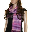 Plaid Cashmere Feel Scarf <br>NY34-06