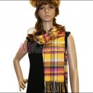 Plaid Cashmere Feel Scarf <br>NY42-03