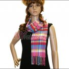 Plaid Cashmere Feel Scarf <br>NY42-05