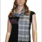 Plaid Cashmere Feel Scarf <br>NY47-01