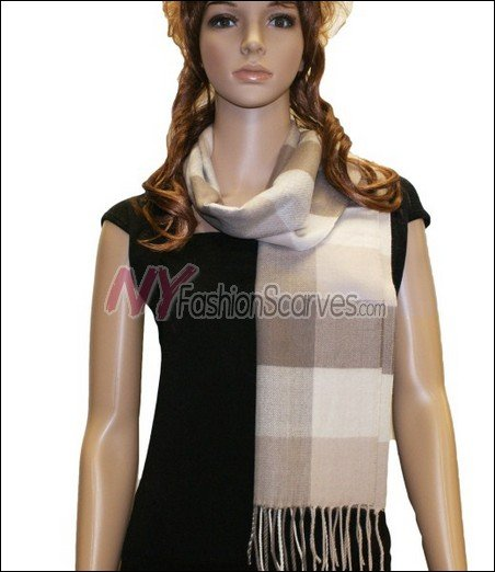 Square Cashmere Feel  Scarf <br>NY2-08