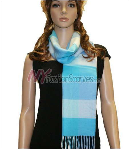 Square Cashmere Feel  Scarf <br>NY2-09