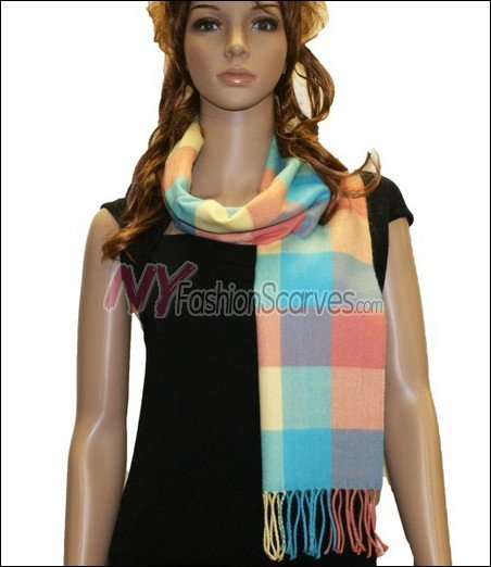 Square Cashmere Feel  Scarf <br>NY3-02