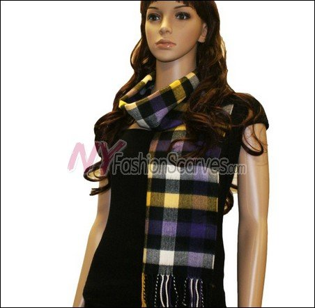 Square Cashmere Feel  Scarf <br>NY7-10