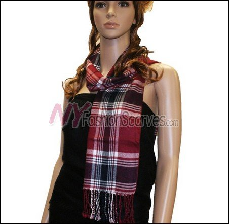 Light Cashmere Feel Scarf  <br>#8019