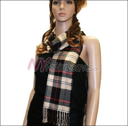 Light Cashmere Feel Scarf  <br>#7066