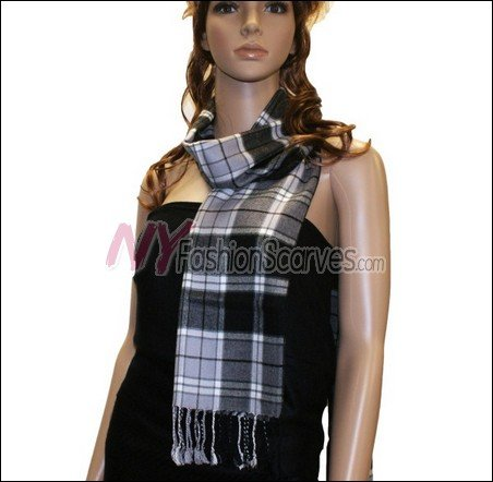 Light Cashmere Feel Scarf  <br>#7033