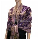 Small Paisley Pashmina <br>Purple