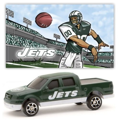 New York Jets 2007 Upper Deck Collectibles NFL Ford F-150 Pickup Truck with Sticker