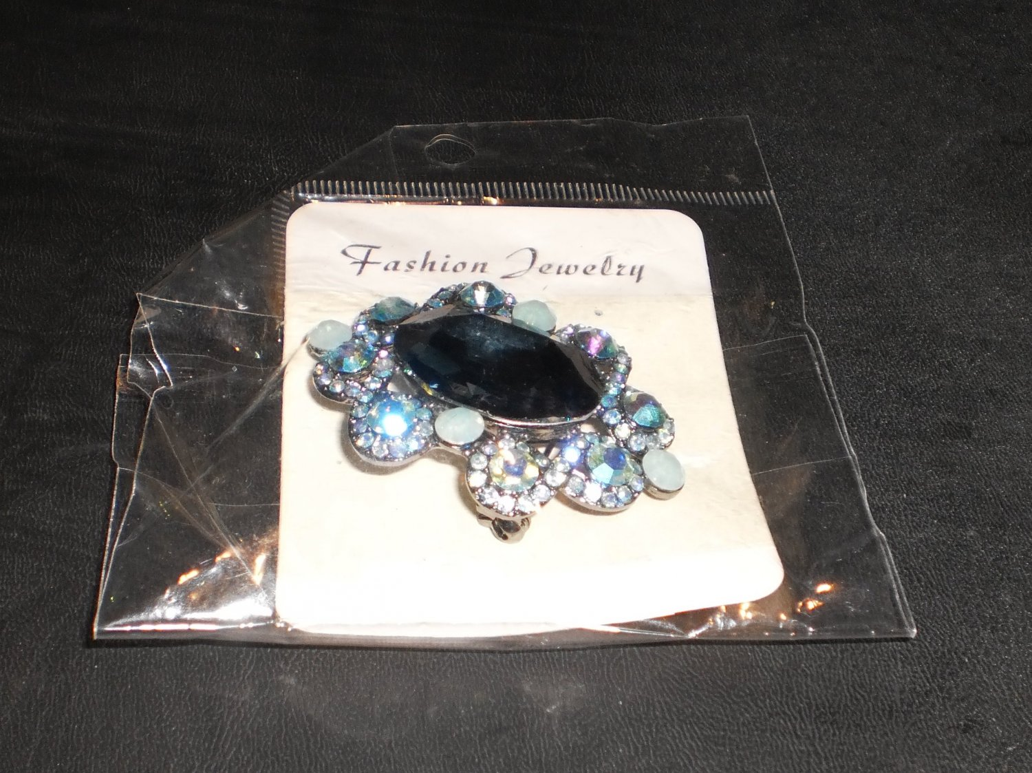 blue berry pin/brooch