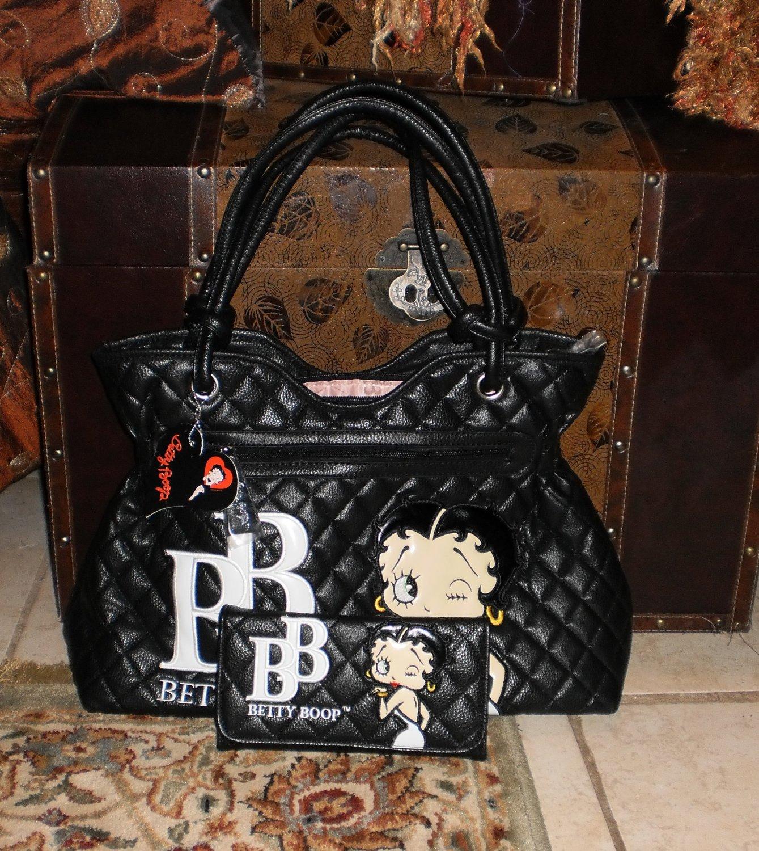 betty boop handbag and wallet