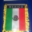 """Mini Banner- 4"""" x 6""""-  MEXICO Flag"""
