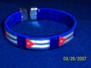 CUBA - Flag Bangle