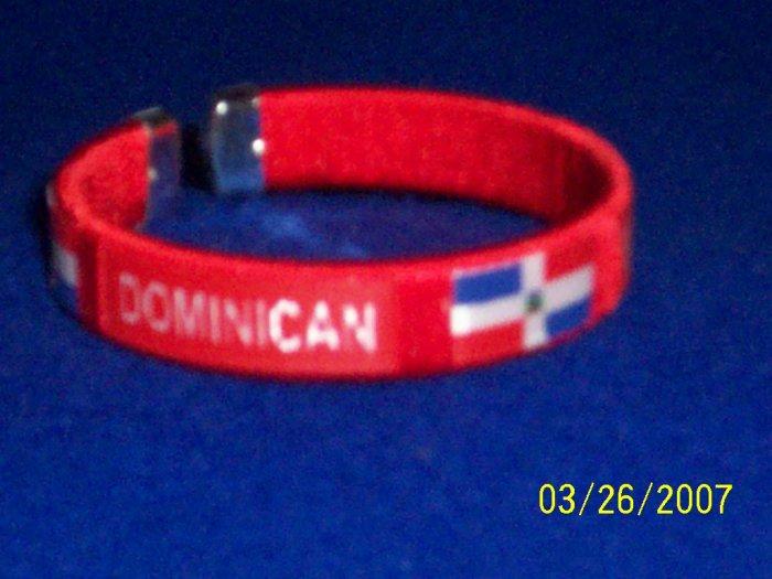 Dominican Flag Bangle