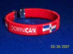 Dominican Flag Bangle