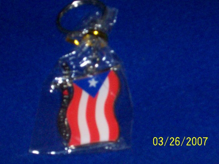 Puerto Rico Flag - Key Chain - Flag