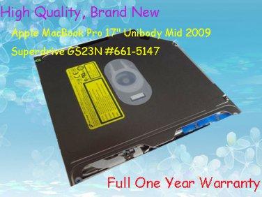 "Generic Apple MacBook Pro 17"" Unibody Mid 2009 Superdrive GS23N #661-5147"