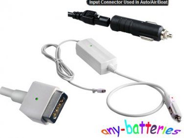 60W DC Laptop Adapter In Car/air/boat Charger For Apple Macbook Pro 16.5V 3.65A