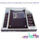 SATA 2nd Hard Drive HDD SSD Caddy Adapter For HP ProBook 6560b 6565b 6570b