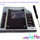 2nd SATA Hard Drive SSD Caddy for Dell Inspiron 5520 M5030 N5030 N5040 GT50N