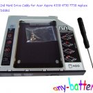 SATA 2nd Hard Drive Caddy for Acer Aspire 4330 4730 7730 replace DVR-TD08RS