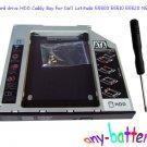 2nd hard drive HDD Caddy Bay For Dell Latitude E5500 E5510 E5520 NEW