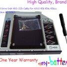 2nd Hard Drive Disk HDD SSD Caddy For ASUS K56 K56c K56ca K56cb K56cm RE UJ8C2