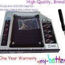 2nd SATA hard drive HDD/SSD Caddy For ASUS N46 N46vz N46vb N46vj N46vm Series