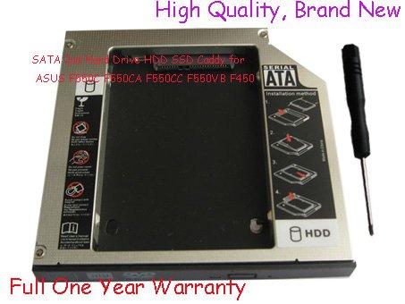 SATA 2nd Hard Drive HDD SSD Caddy for ASUS F550C F550CA F550CC F550VB F450