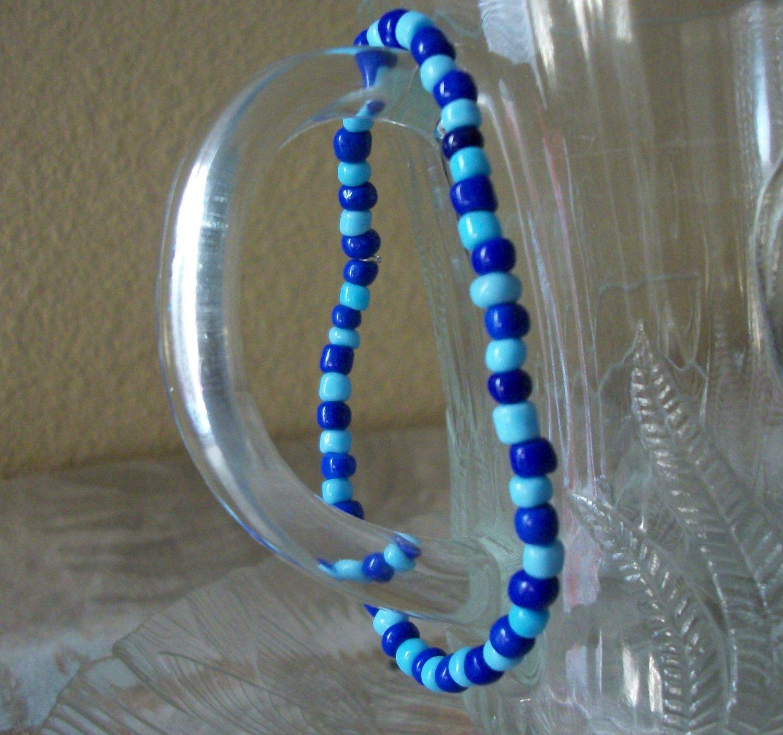 Dark & Light Blue Bracelet