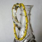 Handmade Yellow Stretch Bracelet