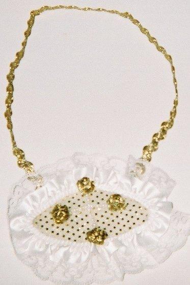 Trisonic Bib Purse Necklace