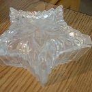 Handcrafted in Romania Crystal Star Shaped Vanity Trinket Box  Romania #00016