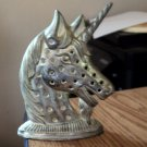 Silver Plated Metal Unicorn Earring Holder #00247