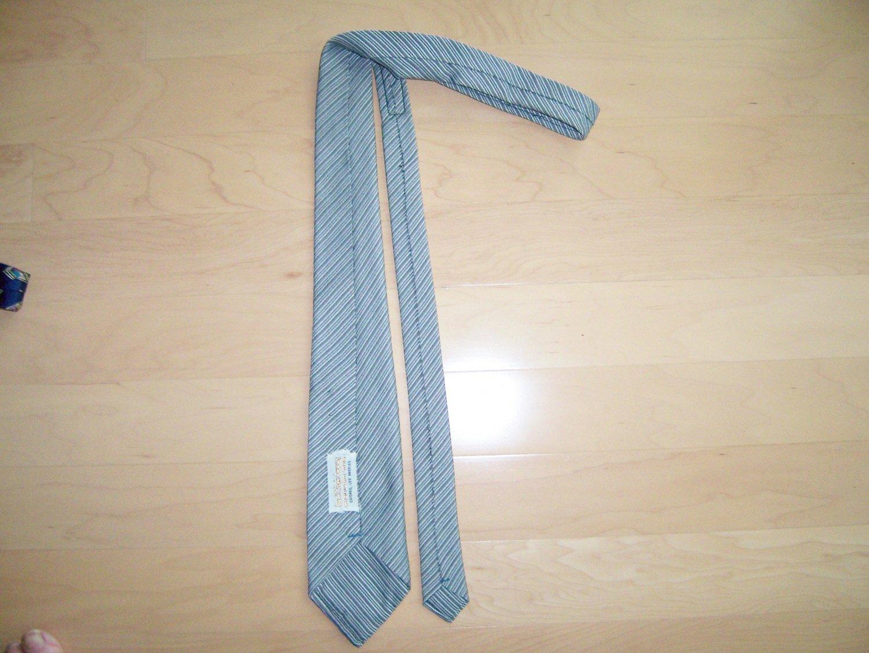 Men's Tie Grey Striped