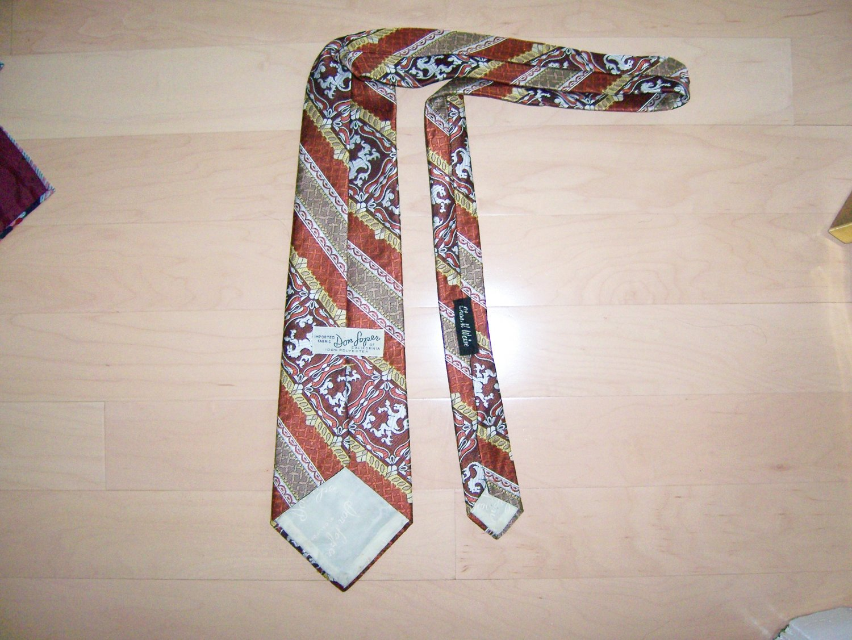 Men's Tie Lion Design