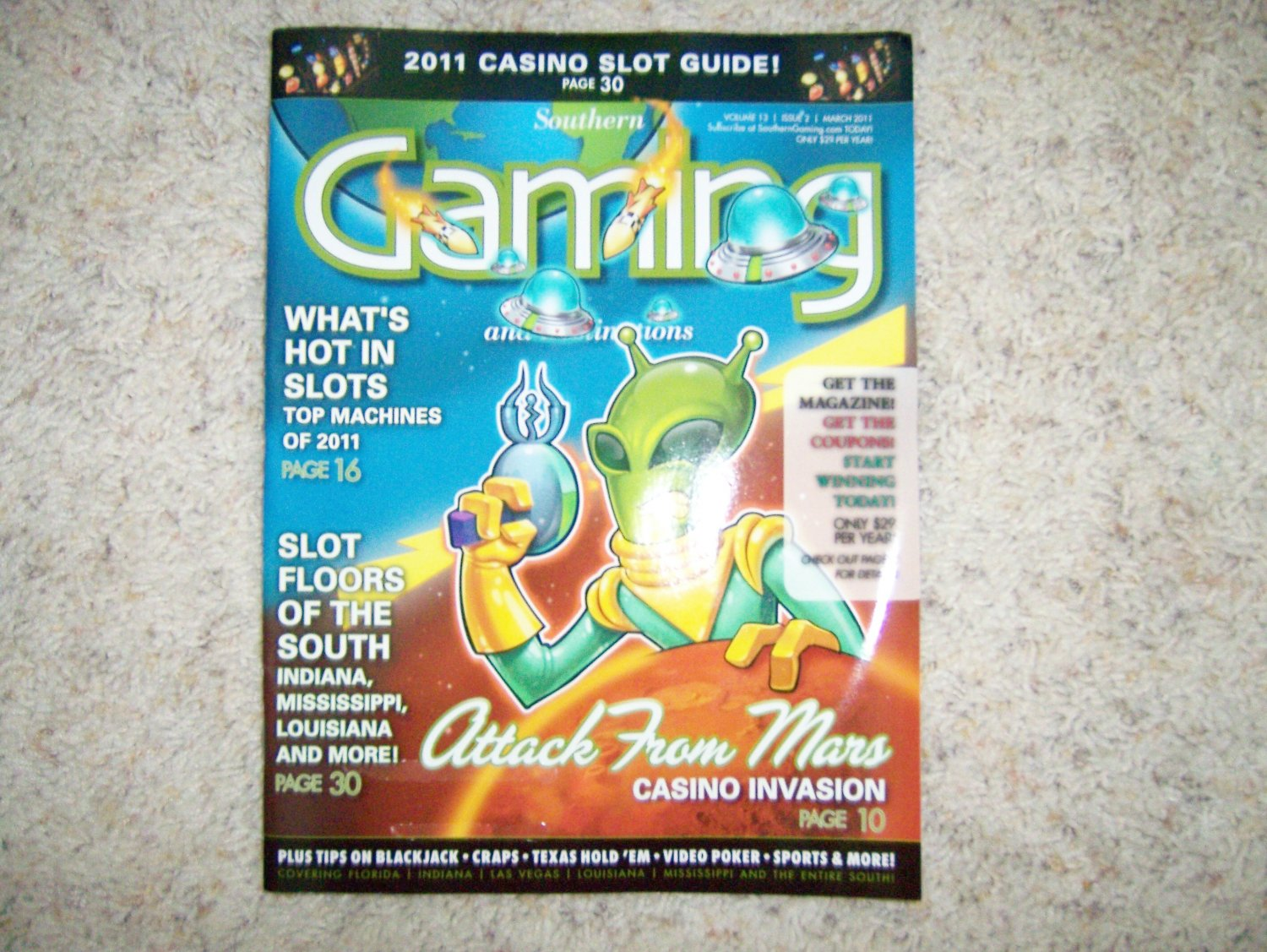 Southern Gaming  Magazine March 2011