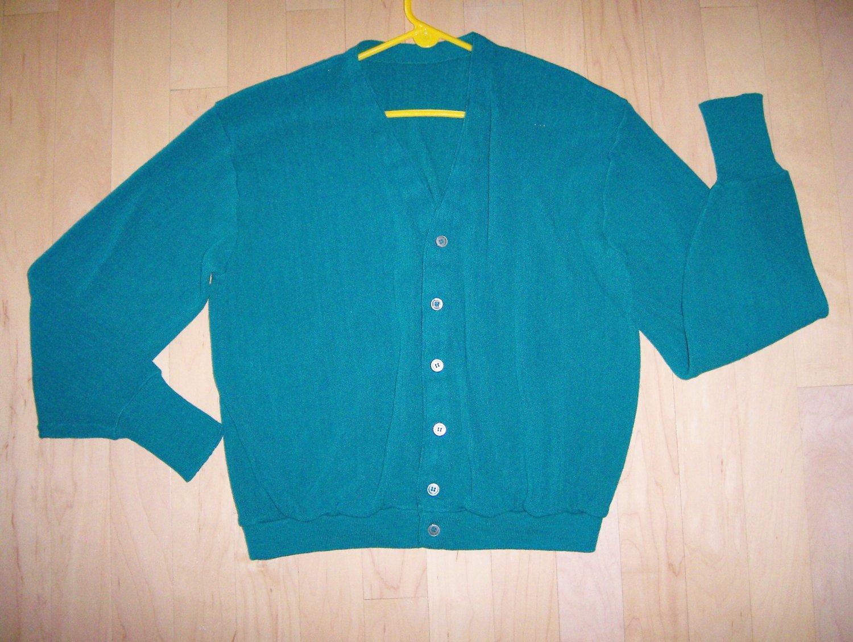 Men's Green Sweater XL