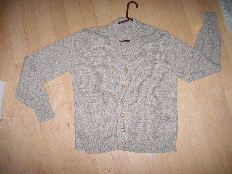 Men's Sweater Lg Tan