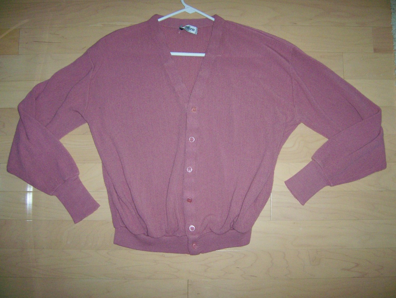 Men's Sweater Rose Colored XL By Jantzen