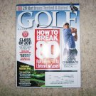 Golf Magazine April 2011